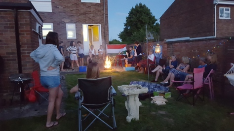 Party at Fort Bull-Knox