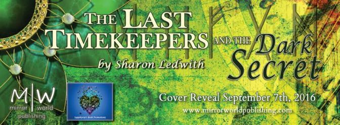 Cover Reveal – The Last Time Keepers and the Dark Secret