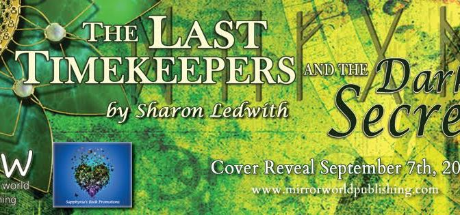 Cover Reveal Banner - The Last Time Keepers and the Dark Secret