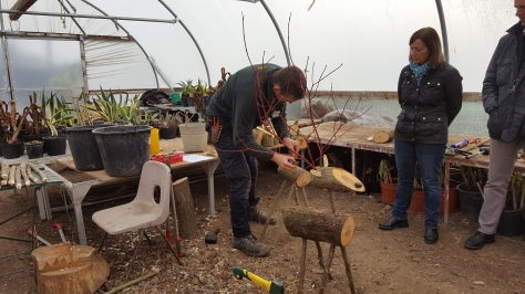 How to Make Reindeer - Wimpole Estate Gardener