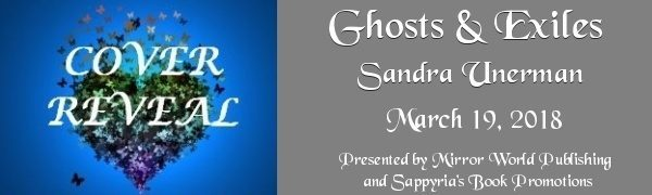 Cover Reveal – Ghosts and Exiles by Sandra Unerman