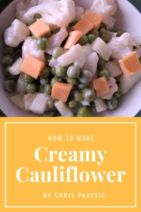 Creamy Cauliflower